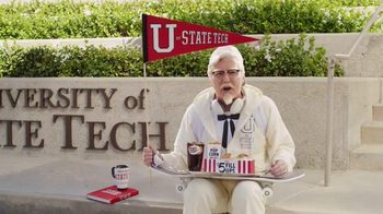 KFC $5 Fill Up TV Spot, 'College Student' Featuring Norm Macdonald - Thumbnail 3