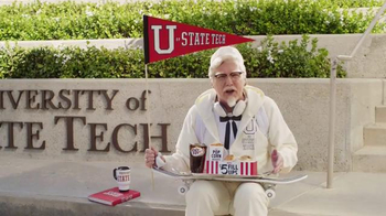 KFC $5 Fill Up TV Spot, 'College Student' Featuring Norm Macdonald - Thumbnail 5