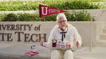 KFC $5 Fill Up TV Spot, 'College Student' Featuring Norm Macdonald - Thumbnail 6