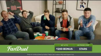 FanDuel One-Week Fantasy Football Leagues TV Spot, 'Like Christmas'