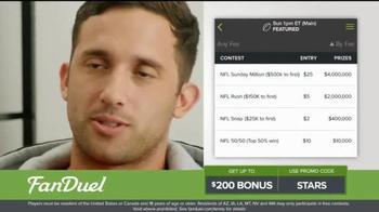 FanDuel One-Week Fantasy Football Leagues TV Spot, 'Like Christmas' - Thumbnail 2