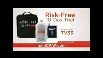 Transcend miniCPAP TV Spot, 'Sleep Anywhere' - Thumbnail 10