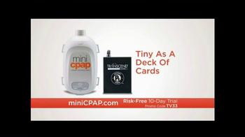 Transcend miniCPAP TV Spot, 'Sleep Anywhere' - Thumbnail 6