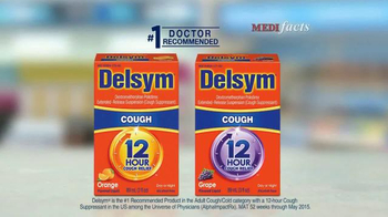 Delsym 12 Hour Cough Relief TV Spot, 'MediFacts' - Thumbnail 8