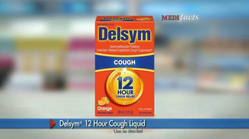 Delsym 12 Hour Cough Relief TV Spot, 'MediFacts' - Thumbnail 3