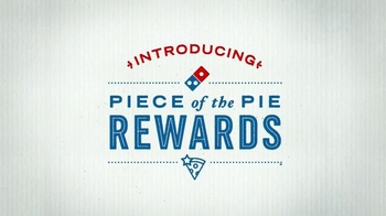 Domino's Piece of the Pie Rewards TV Spot, 'A Little of This' - Thumbnail 6