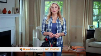 HomeAdvisor TV Spot, 'HomeAdvisor Testimonials' Featuring Amy Matthews - 6413 commercial airings