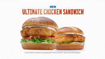 Sonic Drive-In Ultimate Chicken Sandwich TV Spot, 'Chicken Judge' - Thumbnail 8
