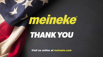 Meineke Car Care Centers TV Spot, 'Veterans Day: Thank You Oil Changes' - Thumbnail 7
