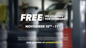 Meineke Car Care Centers TV Spot, 'Veterans Day: Thank You Oil Changes' - Thumbnail 6