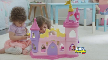 Little People Disney Princess Musical Dancing Palace TV Spot, 'Royal Ball' - 2469 commercial airings