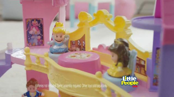 Little People Disney Princess Musical Dancing Palace TV Spot, 'Royal Ball' - Thumbnail 4