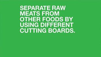 FoodSafety.gov TV Spot, 'Food Safety Education: Separate Your Raw Meats' - Thumbnail 8