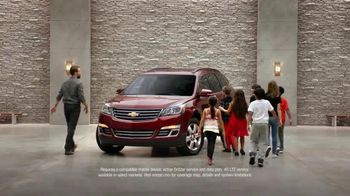 2016 Chevrolet Traverse TV Spot, 'Seven Kids'