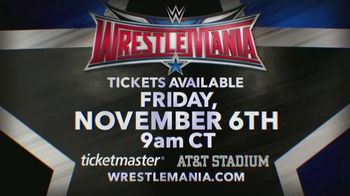 Ticketmaster TV Spot, 'Wrestlemania: Dallas' - Thumbnail 9