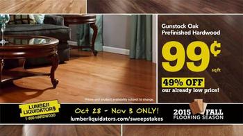 Lumber Liquidators TV Spot, '2015 Fall Flooring Season: Beautiful Floor' - Thumbnail 4