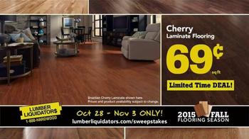 Lumber Liquidators TV Spot, '2015 Fall Flooring Season: Beautiful Floor' - Thumbnail 5