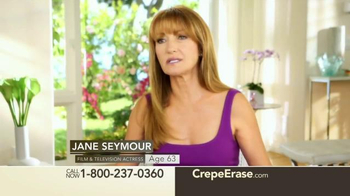 Crepe Erase TV Spot, 'Breakthrough Body Treatment' Featuring Jane Seymour - 45 commercial airings