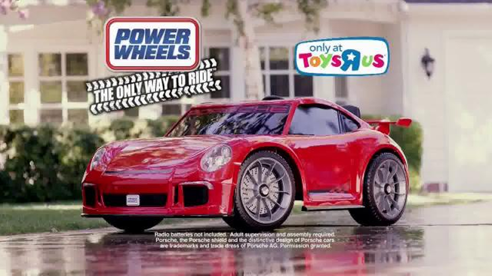 Power Wheels Porsche 911 GT3 TV Commercial The Coolest Car