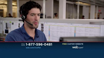 Web.com TV Spot, 'For the Grand Price of Free' - Thumbnail 4