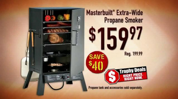 Bass Pro Shops Trophy Deals TV Spot, 'Propane Smoker' - Thumbnail 6