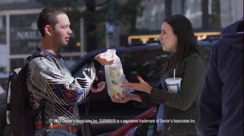 Subway National Sandwich Day TV Spot, 'Buy One, Give One' - Thumbnail 6
