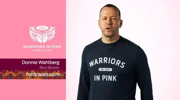 Ford Warriors in Pink TV Spot, 'Blue Bloods' Featuring Donnie Wahlberg