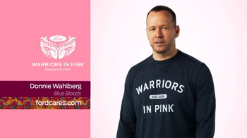 Ford Warriors in Pink TV Spot, 'Blue Bloods' Featuring Donnie Wahlberg - Thumbnail 3