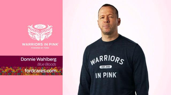 Ford Warriors in Pink TV Spot, 'Blue Bloods' Featuring Donnie Wahlberg - Thumbnail 4