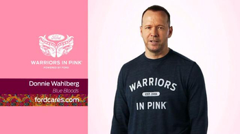 Ford Warriors in Pink TV Spot, 'Blue Bloods' Featuring Donnie Wahlberg - Thumbnail 6