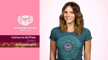 Ford Warriors in Pink TV Spot, 'Scorpion' Featuring Katharine McPhee