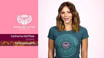 Ford Warriors in Pink TV Spot, 'Scorpion' Featuring Katharine McPhee - Thumbnail 2