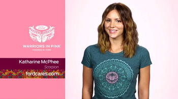 Ford Warriors in Pink TV Spot, 'Scorpion' Featuring Katharine McPhee - Thumbnail 7