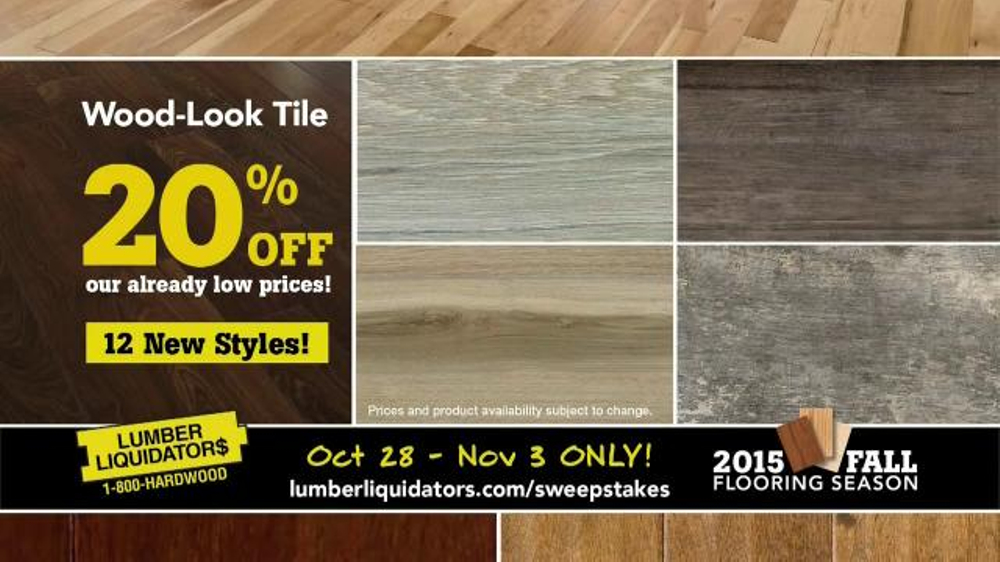 Lumber Liquidators TV Commercial, '2015 Fall Flooring Season: Quick and Easy'