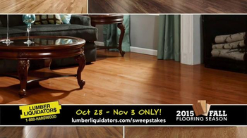 Lumber Liquidators TV Spot, '2015 Fall Flooring Season: Quick and Easy' - Thumbnail 3