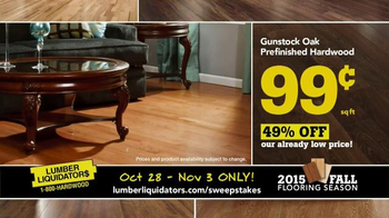 Lumber Liquidators TV Spot, '2015 Fall Flooring Season: Quick and Easy' - Thumbnail 4