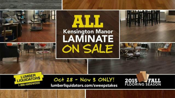Lumber Liquidators TV Spot, '2015 Fall Flooring Season: Quick and Easy' - Thumbnail 5