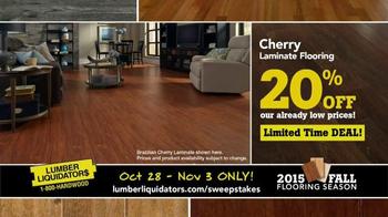 Lumber Liquidators TV Spot, '2015 Fall Flooring Season: Quick and Easy' - Thumbnail 6