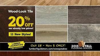 Lumber Liquidators TV Spot, '2015 Fall Flooring Season: Quick and Easy' - Thumbnail 7