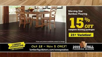 Lumber Liquidators TV Spot, '2015 Fall Flooring Season: Quick and Easy' - Thumbnail 8
