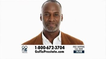 GoFlo Prostate Support Supplement TV Spot, 'Aging Prostate'