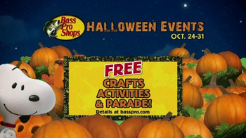Bass Pro Shops Trophy Deals TV Spot, 'Halloween Crafts and Parade' - 163 commercial airings