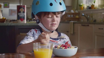 Quaker Oats TV Spot, 'Bicycle Ride' - Thumbnail 2