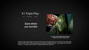 XFINITY X1 Entertainment Operating System TV Spot, 'Tech the Halls' - Thumbnail 6