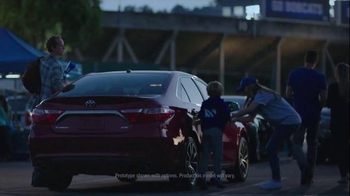 2015 Toyota Camry XSE TV Spot, 'First Games' - 4 commercial airings