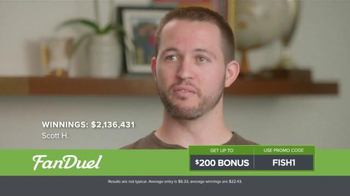 FanDuel One-Week Fantasy Football Leagues TV Spot, 'Scott' - Thumbnail 4