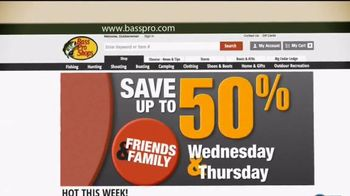 Bass Pro Shops Friends & Family Sale TV Spot, 'The Peanuts Movie' - 2 commercial airings