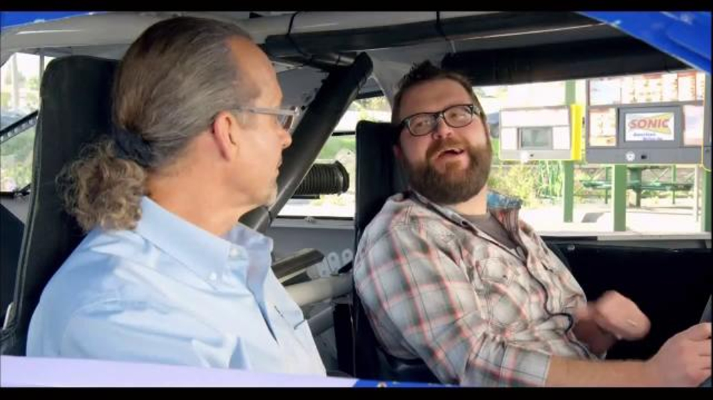 Sonic Drive-In TV Commercial, 'Wingman' Featuring Kyle Petty, Rutledge Wood