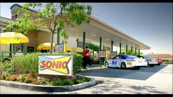 Sonic Drive-In TV Spot, 'Wingman' Featuring Kyle Petty, Rutledge Wood - Thumbnail 1