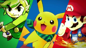 Nintendo 3DS XL TV Spot, 'Holiday 2015: Unwrap Your Favorite Characters' - 447 commercial airings